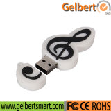 Wholesale 16GB Musical Note USB Pen Drive for Promotion