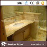 Good Quality Polished Beige Marble Countertop for Sale