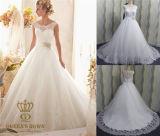 A Line Lace Wedding Dress, Wedding Party Dress