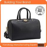 Fashion Genuine Leather Crocodile Pattern Top Handle Women Handbags