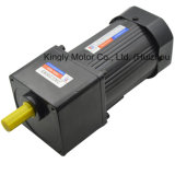 Single-Phase/Three-Phase 90mm 90W AC Brake Gear Motor