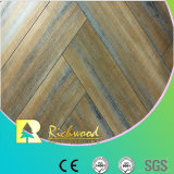 Commercial 12.3mm Embossed Oak Waxed Edged Lamianted Flooring