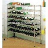 NSF Adjustable Chrome Metal Corner Wine Rack Holders