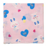 Hot Sale Cute Face Towel Washcloths with Rabbit Design Hand Towel for Baby