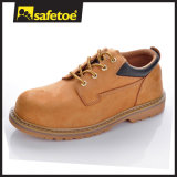 High End Quality Leather Safety Shoes First Layer Leather Goodyear Welted Rubber Shoes