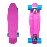 22inch PP Mini Skateboard Cruiser Complete Skateboards Banana Skateboard Pink Design141
