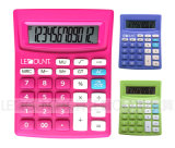12 Digits ABS Optional Tax Dual Power Desktop Calculator (LC240B)