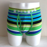 Fashion Colorful Boxer Briefs Striped Male Underwear