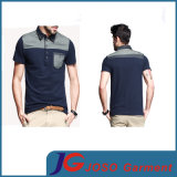 Mixed Color Casual Polo Shirt for Men (JS9032m)