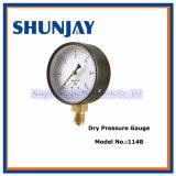 Pressing Bezel Screws Tighting Dry Pressure Gauge