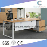Modern Elegant Design Office Table with Metal Base