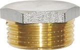 Brass Thread Nut with Nickel Plated Hexagonal