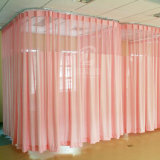 Ready Made Ward Partition Curtains Fire Flame Retardant Cloth for Hospital