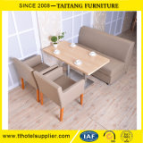 Solid Surface Coffee Table and Chairs for 4 Person