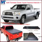 Hot Sale Tonneau Tri Fold Cover for Toyota Tacoma 6′ Bed 05-11