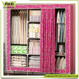 Non-Woven Fabric Huge Custom Cheap Wardrobe with Cloth Cover