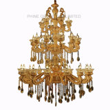 Phine Chandelier Zinc Alloy Pendant Lamp with K9 Crystal Decorative