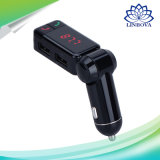 Bc06 Wireless MP3 Player Car Adapter Audio Bluetooth Car Kit FM Transmitter with 2 USB Port