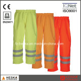 Good Quality Safety Waterproof Wear Warning Hi Vis Pants Standard En20471