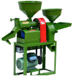 6NJ40-F26 Complete Rice Mill Machine / Milling Machinery with Crusher