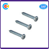 Carbon Steel/4.4/8.8/10.9 Fastener Cross Pan Head Self-Drilling Screw for Furniture Component