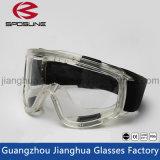 Transparent Ce En 166 Ventilate HD Vision Crashproof Safety Gogles Splashproof Anti-Fog Big Eye Ptotection Goggles