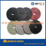 Dry Polishing Pad 4 Inch Dry Flexible Diamond Polishing Pad