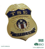 Customized High Quality Hard Enamel Police Badge Pin (XDBGS-317)