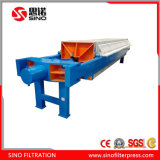 Chinese Hydraulic Driven Automatic PP Recessed Chamber Filter Press Machine