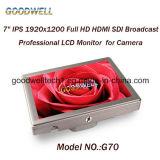 "Camera Mount 7""Sdi Monitor 1920X1200 IPS Panel"