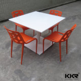 Coffee Shop Stone Solid Surface Modern Dining Table