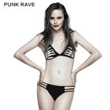 Punk Personalised Ghost Hand Printing Swimsuit+Swimming Trunks