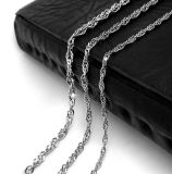 316L Stainless Steel Fashion Accessories Necklace Clasp Chain