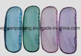 Most Popular Multi Color Transparent Magnetic Plastic Eyeglasses Case (PZ7)