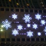Factory Supply LED Christmas Decoration LED Snowflake Rope Light
