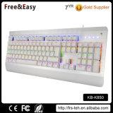 Factory Wholesale LED Backlit USB Wired Customized Keyboard Mechanical