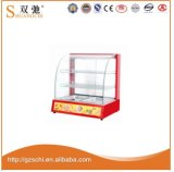 Commercial Electric Food Warmer Display with Glass Warming Showcase