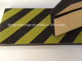 Black Yellow Film Car Protection Pad Foam Guard with Adhesive