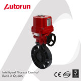 Wenzhou Supplier PVC Explosion Proof Motorized Butterfly Valve