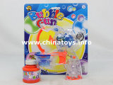 Battery Operated Transparent Bubble Toy Gun (716924)
