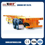 2 Axle 20 Feet Skeleton Container Chassis Semi Trailer