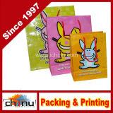 Custom Printed Kraft Paper Shopping Bag with Logo Printing (3235)