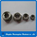 DIN980 Stainless Steel All Metal Hexagon Self Lock Nuts
