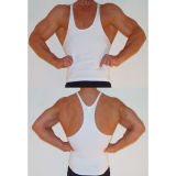 Custom Bamboo Gym Singlets Stringer Tank Top
