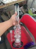 Glass Water Pipe for Tobacco Smoking