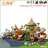 2017 Plastic Kids Outdoor Play Structure for School