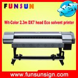High Quality Wit-Color Brand Eco Solvent Printer Ultra 9200 2301 / 2302 with 1 or 2 Dx7 Print Head