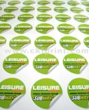 Custom Printing Adhesive Cheap Logo Stickers (CKT-LA-426)