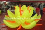 LED Lighting Advertising Inflatable Lotus Flower
