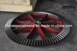 Cast Steel Straight Bevel Gear for Cement and Mining